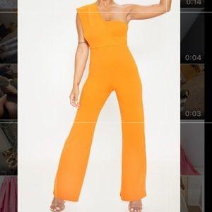 Orange jumpsuit size SMALL